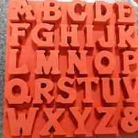 قالب سیلیکونی حروف رومی
