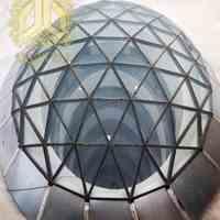 گنبدهای شیشه ای و سازه های فری فرم آرچی تاج