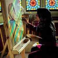 آموزشگاه هنر و نقاشی پرواز رنگها