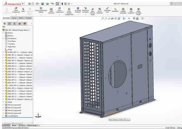 مهندسی معکوس ، اندازه برداری دقیق ، اسکن سه بعدی و  مدلسازی سریع و دقیق قطعات و مجموعه های صنعتی