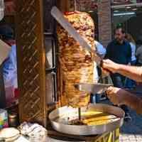 فروش ویژه انواع رول کباب ترکی و دونر کباب