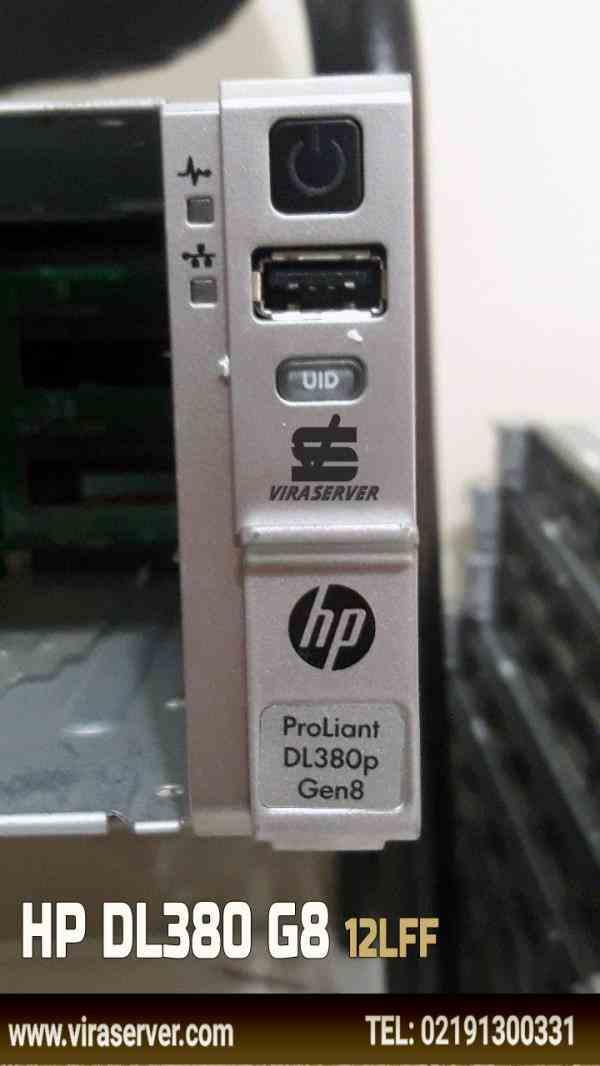 سرور اچ پی HP DL380 g8 sff/lff