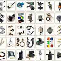 فروش انواع لوازم برقی استارت دینام، سوکت، کلید، رله، لامپ، سنسور خودرو