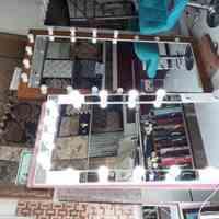 آینه چراغدار لامپی گریم و میکاپ و مزون و آرایشگاه