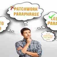 پارافریز : بازنویسی مقاله انگلیسی و رفع مشابهت یا پلجریسم مقاله