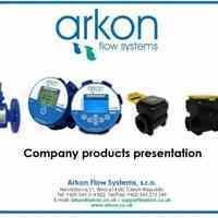 محصولات اندازه گیری دبی یا فلومتر شرکت ARKON