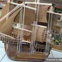 کشتی چوبی بادبانی
