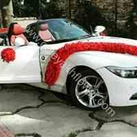 سبد گل ، دسته گل عروس ، گل ماشین عروس