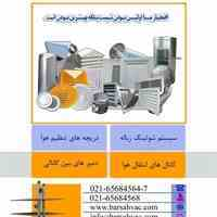 سیستم شوتینگ زباله،کانال های تنظیم هوا،دریچه های تنظیم هوا