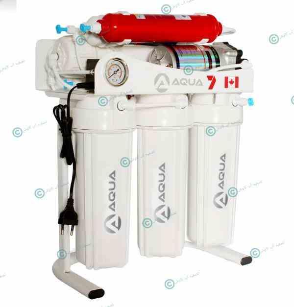 فروش دستگاه تصفیه آب خانگی شش مرحله آکوا7