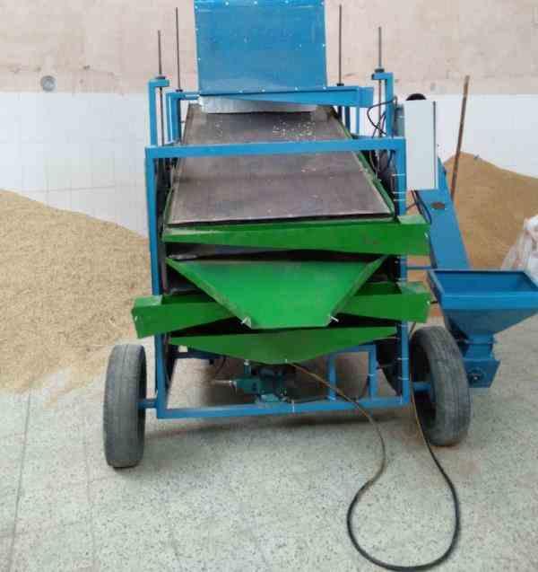 دستگاه بوجاری محصولات کشاورزی (گندم جو کشمش حبوبات تخمه...)