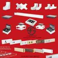 تولیدکننده تجهیزات زیرساخت شبکه(ترانکینگ،سینی مش،داکت کابل،جعبه کف خواب،باسداکت)