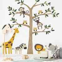 طراحی و چاپ استیکر  و شبرنگ جهت اتاق کودک و فروشگاها