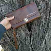 کیف چرمی دستدوز