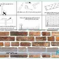 خرید دیوارپوش طرح آجر در سایت سازه دکور