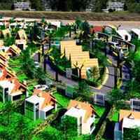 باغ 1755 متری در قالب مجموعه ای باغ ویلایی مدرن /مستعد رشد