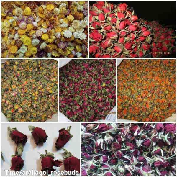 فروش غنچه(سرگل) خشک گل رز