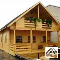 ساخت ویلای چوبی مدرن
