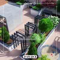 طراحی و اجرای روف گاردن / بام سبز