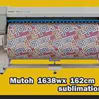 پلاتر چاپ سابلیمیشن برند Mutoh عرض 162 سانتیمتر