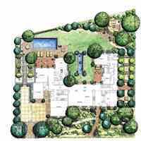 باغ 1230 متری با شرایطی عالی و دونقشه اختصاصی