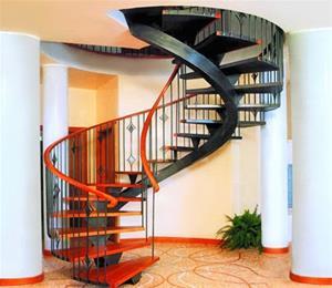 گالری انواع پله های دکوراتیو(پله گرد،پله پیچ)