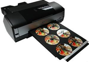 دستگاه  چاپ روی سی دی 02188784350