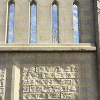 دیوار پیش ساخته بتنی با طرح های لاستیکی
